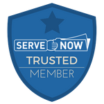 Serve Now Process Serving Member Badge